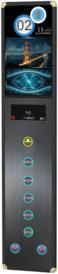 zeit-elevator-signalizations-button-panel